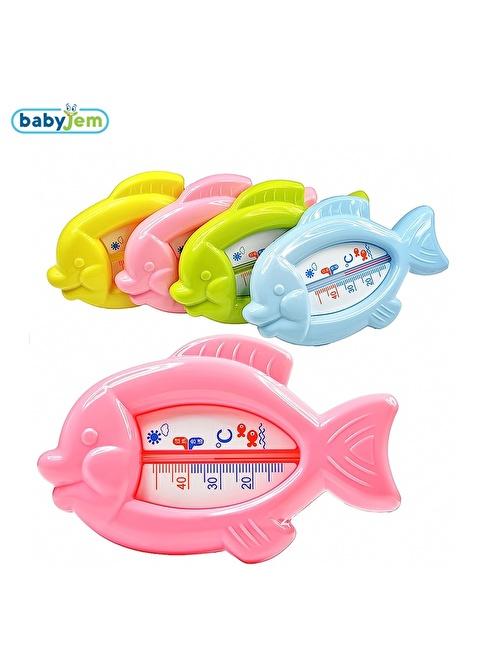 Baby Jem Babyjem Kurbaga Banyo&Oda Termometresi  Oranj